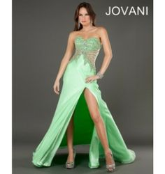 $450.00 Jovani Prom Dress at http://viktoriasdresses.com/ Through John's Tailors