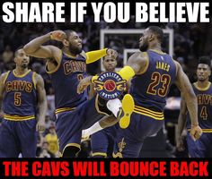 We can do it. Down 3-0 ain't nothin for King James.