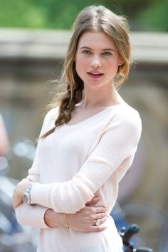 <3 Behati Prinsloo. She looks so gentle and kind compared to all the other models. But I feel there might be more to her than just that. :)