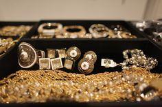 Jewelry backstage at the Rachel Zoe fashion show. (Photo: Yana Paskova for The New York Times) #nyfw