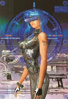 Nice. Love GitS - Kusanagi, Ghost in the Shell, de Masamune Shirow