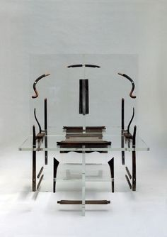 Exploded chair