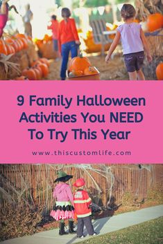 We've compiled nine AWESOME activities that you NEED to try with your family this year. Check it out! We've compiled nine AWESOME activities that you NEED to try with your family this year. Check it out! Family Halloween, Cute Halloween, Halloween Crafts, Halloween Pumpkins, Holiday Movie, Holiday Fun, Family Holiday, Holiday Ideas, Christmas Origami