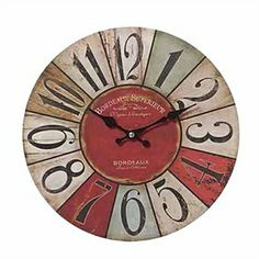 Wall Clocks - Mediterranean Wall Clock