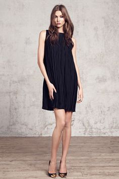 Black dress / Mango winter 2013