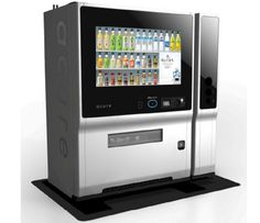Advertising Lab: Vending Machines With Face Recognition and Opinions Vending Machines In Japan, Industrial Machine, Id Design, Home Network, Digital Signage, Machine Design, Kiosk, Industrial Design, Advertising