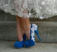 Beautiful blue shoes