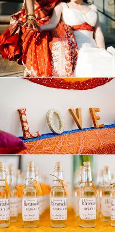 Yana and Archita | Jewish-Hindu-Indian-Russian multicultural lesbian wedding at Trust, Philadelphia, Pennsylvania, USA