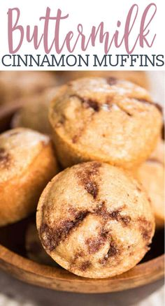 Easy Cinnamon Muffins {Buttermilk & Stuffed with Cinnamon Sugar} If you love the aroma of cinnamon sugar in the morning, these easy cinnamon muffins are for you! Made with buttermilk for an ultimately soft, tender muffin. Sour Milk Recipes, Buttermilk Recipes, Muffins With Buttermilk, Recipes With Buttermilk Breakfast, Buttermilk Uses, Buttermilk Cookies, Breakfast Recipes, Brunch Recipes, Gourmet Recipes