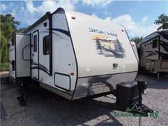 Large camper with fireplace !