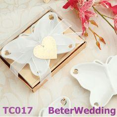 Porcelain Butterfly Candy Dish wedding Souvenir,box, bag TC017 Shanghai Beter Gifts Co Ltd@http://www.BeterWedding.com $16.00