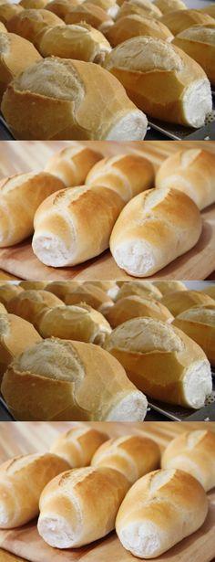 MODO DE PREPARAR:Dissolva o fermento e junte os demais ingredientes aos poucos.#receita#bolo#torta#doce#sobremesa#aniversario#pudim#mousse#pave#Cheesecake#chocolate#confeitaria# Hot Dog Buns, Hot Dogs, Bread, Food, Bagel Recipe, Easy Homemade Biscuits, Onion Bread, Sponge Cake Recipes, French Nails