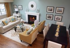 small living room dining room combo - Google Search