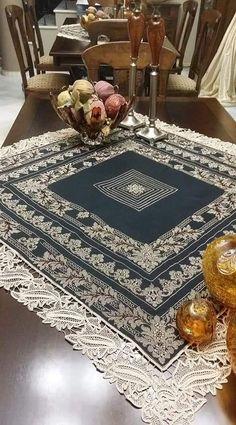 Tablecloths, Carpets, Cross Stitch Patterns, Stitching, 1, Lace, Decor, Farmhouse Rugs, Costura