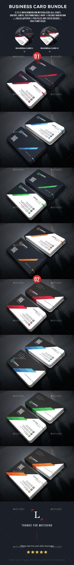 Corporate Business Card Template PSD Bundle. Download here: http://graphicriver.net/item/corporate-business-card-bundle/15379249?ref=ksioks