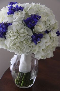 kellysflowers_white_hydrangea_with_blue_delphinium_bridal_bouquet