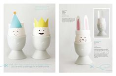 DIY Easter Egg Paper Crafts by Sweet Paul