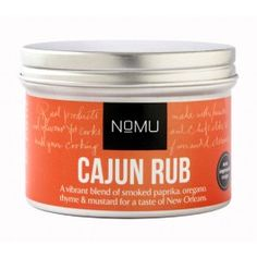 NoMu Rub Cajún New Orleans #ingredientes, #especias €4,95