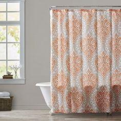 Charlton Home Oliver Microfiber Shower Curtain