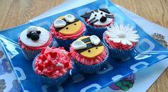 Cupcakes con fondant primeros pinitos