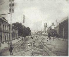 1876 La Mariscala Cd  de México, hoy Av Hidalgo