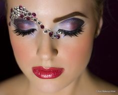 Love the eyeshadow...crystals not so much.