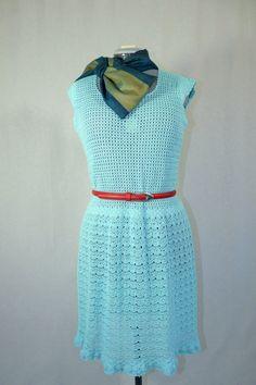 Aquamarine colour sophisticated dress Code: by JSOTsHumanHeritage