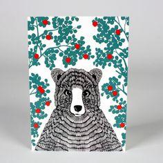 Mr Bear Card — Artstar, design Anna Ahmarova
