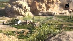 UNESCO condemns 'mad' destruction of Nimrud. An image grab by Jihadist media outlet Welayat Nineveh, allegedly shows smoke billowing from the ancient city of Nimrud after it was wired with explosives by Islamic State group on April 2015 [Credit: AFP] Bagdad, Isis Iraq, Islamic Sites, Syrian Civil War, Site Archéologique, Palmyra, Photos, Pictures, Oeuvre D'art