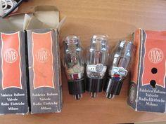 3 tube 5X4G FIVRE 5X4 MORE POWER THAN U52 274B 5U4 TESTED BLACK BASE GENUINE BOX #FIVRE
