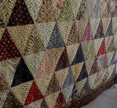 The quilting ...