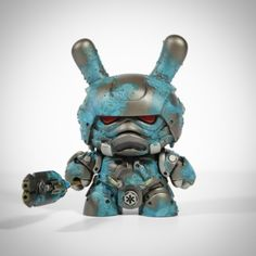 "ArtmyMind's steampunk ""Storm Samurai"" Dunny customs"