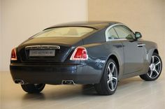 Wraith  There's a sense of effortless grace and elegance, but at the same time something more contemporary and daring
