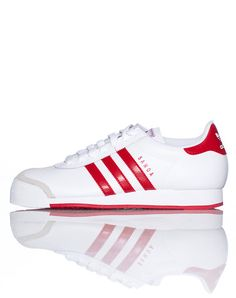 best sneakers 5eadd 22360 adidas+Classic+style+Lace+front+closure+Contrasting+colors+