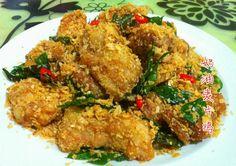 簡單容易煮的麥片雞,味道帶辣香濃