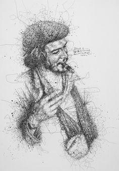 """Потрясающие """"каракули"""" Vince Low - Ярмарка Мастеров - ручная работа, handmade"""