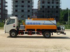 Low fuel consumption asphalt Sprinkle cloth car