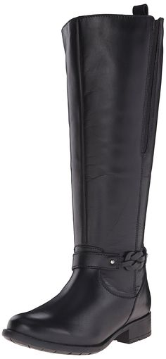 Clarks Women's Plaza Studio Riding Boot ** To view further, visit now : Knee high boots