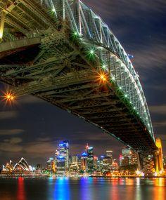 Sydney Harbour Bridge, Australia another beautiful memory walking on this bridge with my girl.