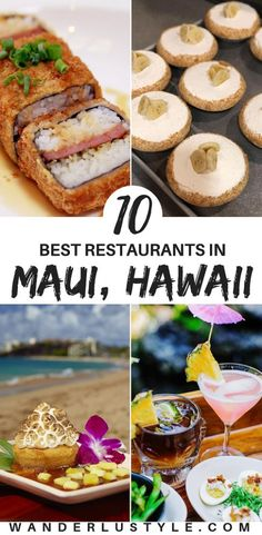 Maui is filled with amazing restaurants around the island! From mom and pop shop, diners, and hotel restaurants. After a few Maui trips and Yelp search, we put together the best restaurants on the … Trip To Maui, Hawaii Vacation, Maui Hawaii, Italy Vacation, Hawaii In July, Hawaii Life, Oahu, Hawaii Travel Guide, Maui Travel