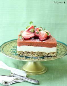 """Are you the type of person who likes to play jokes on April Fool's Day? If so, then congratulations! If not, then instead of a joke, try something a little different on April 1st. Why don't you """"surprise"""" someone with one of these raw desserts?"""