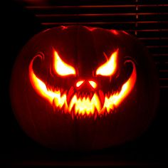 60+ Best Cool, Creative & Scary Halloween Pumpkin Carving Ideas 2014