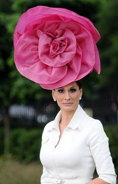 Danish Fashion Designer Isabell Kristensen - Royal Ascot 2013 #millinery #judithm #hats