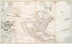 This map of North America according to ye newest and most exact observations is most humbly dedicated by your Lordship's... ([1720?]) #map #NorthAmerica