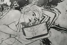 ilustración de Angie H. Iver