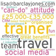 http://www.barclayjones.com/blog/barclay-jones-team/amazing-trainers-needed-to-help-us-deliver-roi-to-recruiters/ We're Hiring: We are Looking for an Amazing Trainer to Join our Business | Barclay Jones Team | Barclay Jones