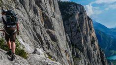 Der längste Klettersteig am Gardasee