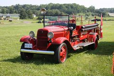 1933 Ford-Seagrave Fire truck