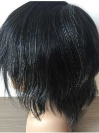 Hairpieces, Man Toupees Full French Lace With Transparent Poly All Around Perime… Hairpieces, Man Toupees Full French Lace With Transparent Poly All Around Perimeter - Colorful Toupee Hairs Medium Waves, Medium Curls, Mens Toupee, Indian Human Hair, Waves Curls, Tight Curls, Nape Of Neck, Hair Density, French Lace