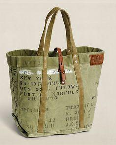 Cabas Murphy en toile - Sacs & Bagages Accessoires - Ralph Lauren France